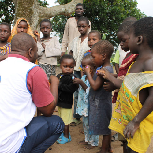 Waisenkinder in Afrika